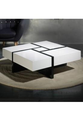 Table basse Elodie avec rangement