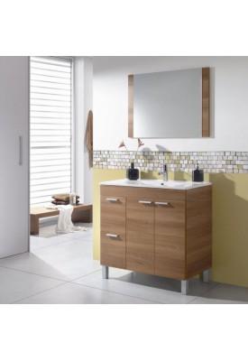 Salle de bain complète Noyer
