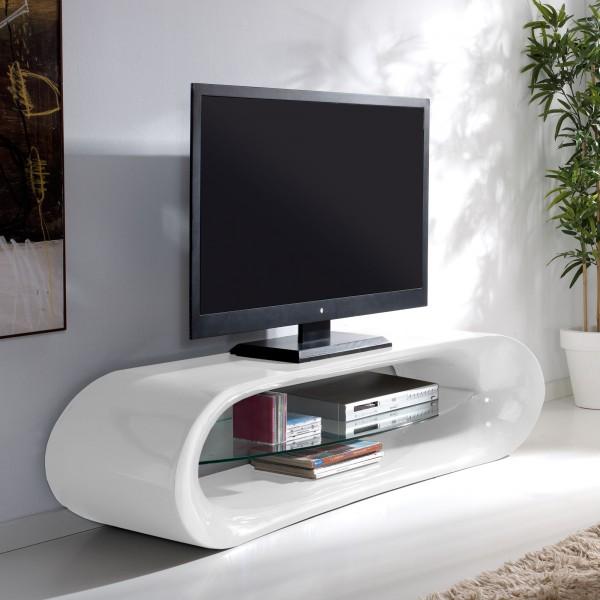 Meuble Tv Mural Verre : Meuble Tv En Verre Longueur 160cm – Odesign