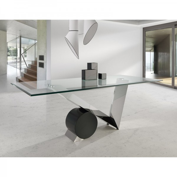 Achat vente table de salle manger moderne odesign for Table de salle a manger moderne