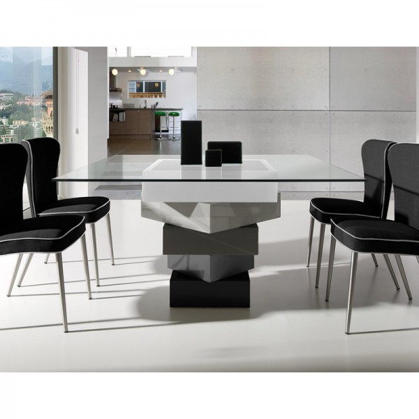 Tables manger achat vente table manger carr e en - Table carree salle a manger design ...