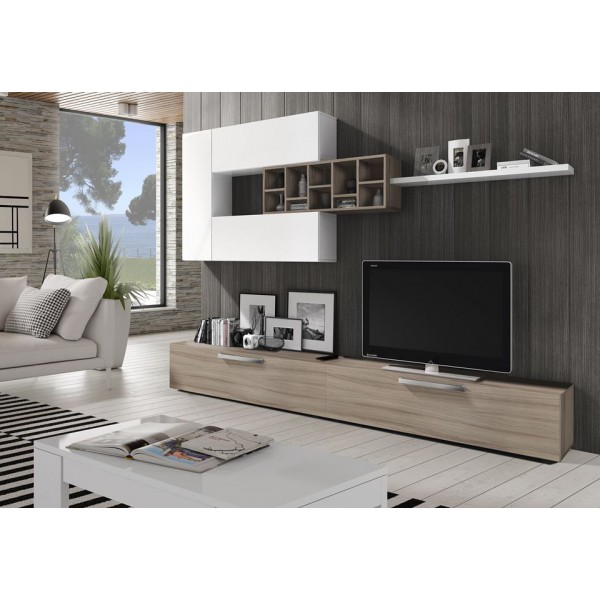 Meuble Tv Kendra : Meuble Tv Deco Grège – Odesign