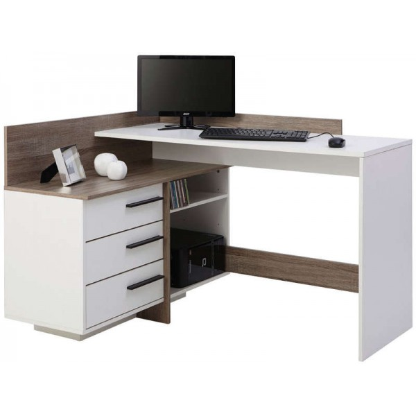 Bureau d 39 angle tal odesign for Meuble d angle conforama