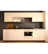 Cuisine moderne blanche DIANA