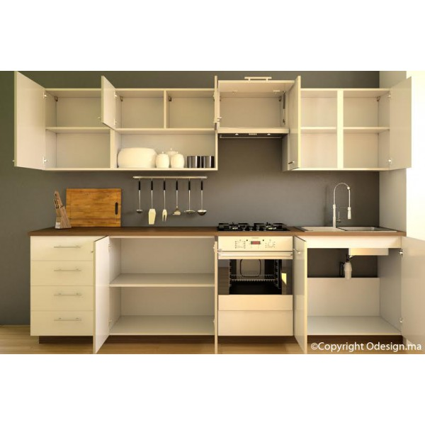 Cuisine moderne blanche DIANA  ODESIGN