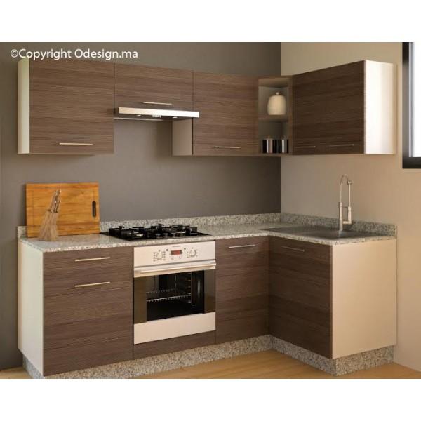 Cuisine Moderne Design Avec Ilot : Cuisine moderne LOFT Grey  ODESIGN