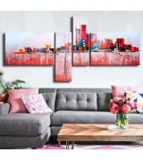 Tableau peint Rose City