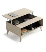 Table basse Scavo Beige/Gris