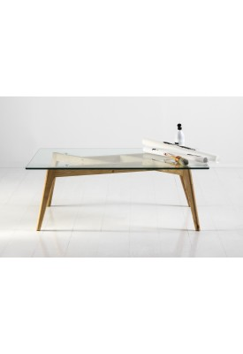 Table basse en verre Elegance