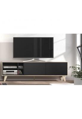 Meuble Tv Scavo Beige/Gris