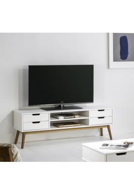 Meuble Tv Orly Blanc