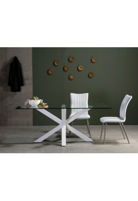 Table ractangulaire design Paula