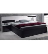 Tête de lit Aura avec table de chevet