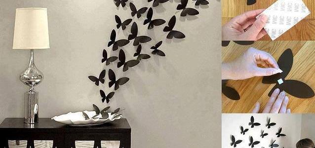 Des papillons dans votre int rieur for Astuces decoration interieur